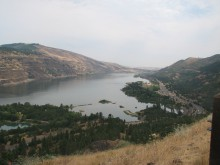 View from Rowena
